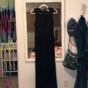 Tank Top, Black Maxi Summer Dress